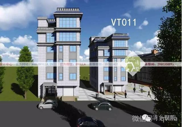 00米中式典雅二层自建房屋,清墅付费设计案例vt-012赏析图片