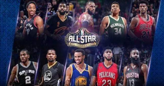 NBA全明星图片