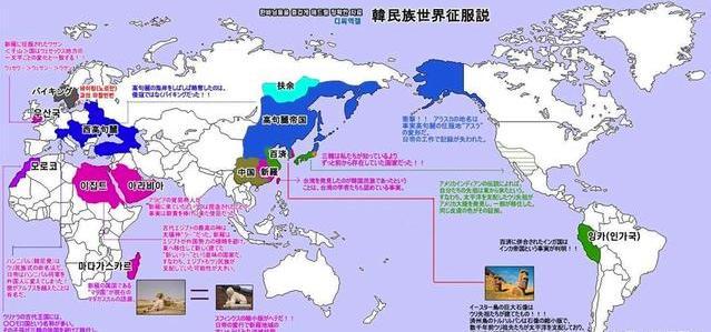 韩国发明的地图告诉你,他们真的统治过中国!