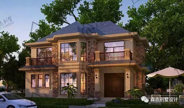 森态农村别墅图纸设计 204高清建房案例 多图