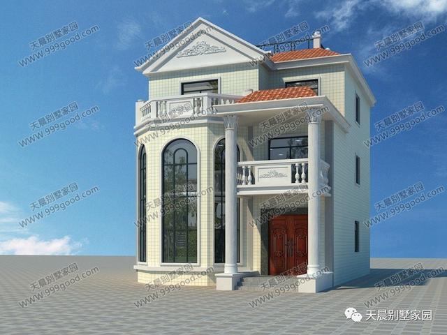 大胆创别墅才会大栋_9米x12米农村别墅设计图,外观好看布局大气!