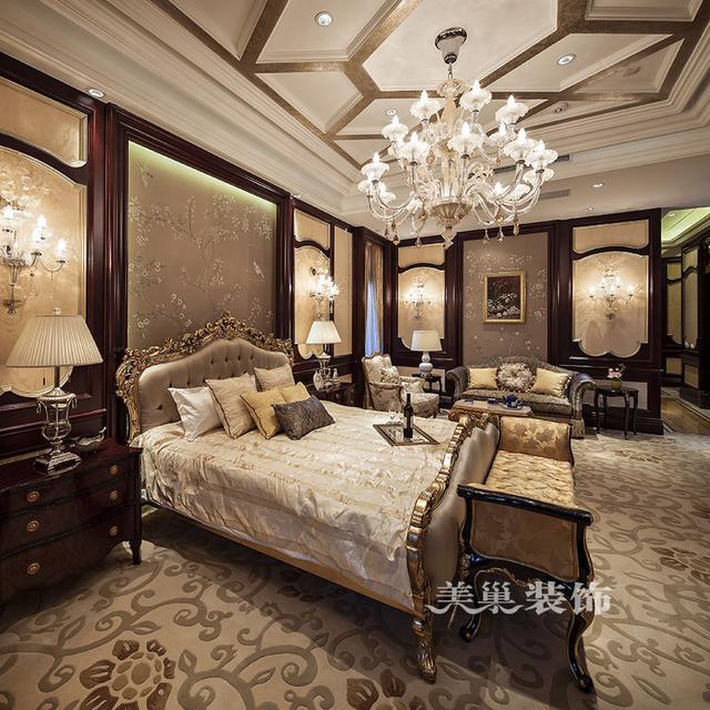 河南800平方自建别墅欧式风格装修设计——钢琴室