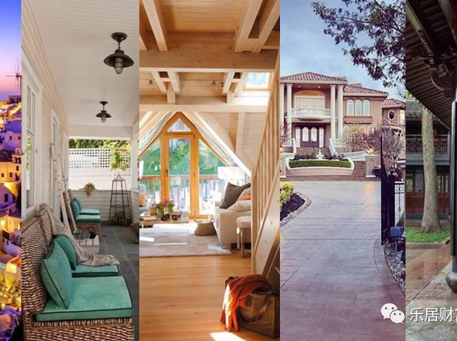 五种房子你最想住哪个?一眼看出你花钱习惯。