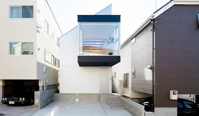 天空之城,日本78平米複式住宅