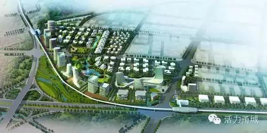 十三五期间宁波重点打造东部新城 姚江新城图片 34600 550x275-宁波