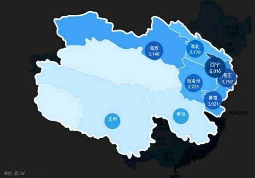 综观近日出炉的全国房价地图,经济发达的省份,其省会和省内经济排名
