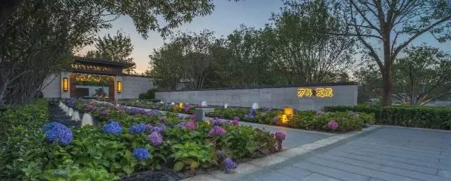 居住区入口景观这样设计,看一眼就想入住!