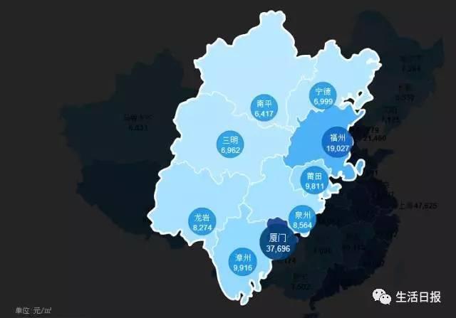 房价地图出炉!青岛山东排第二,第一是谁?