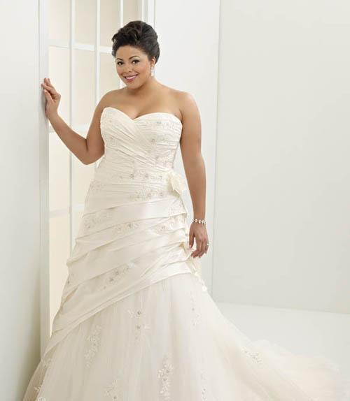 穿什么礼服显瘦 胖新娘显瘦6个小窍门