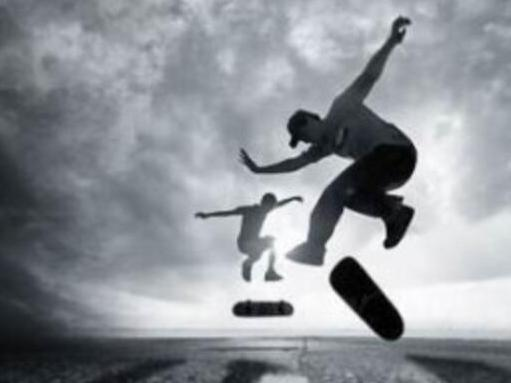 GIF图解 教你如何玩滑板!hema233.com
