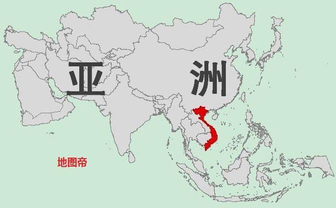 历史 正文  越南,位于中国南部,与广东广西相接.图片