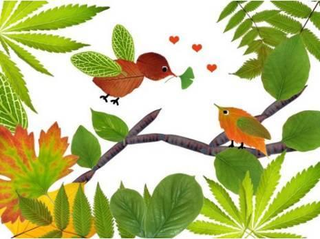 树叶粘贴画对幼儿的发展有何益处答:怎么做树叶贴画采下所需要的叶子.