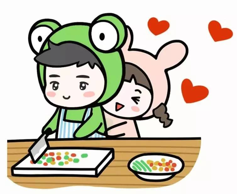 《好想抱抱1你》--蛙哥新书报到大全图片表情包qq送花漫画!给彼此一图片