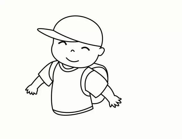 幼儿新学期简笔画