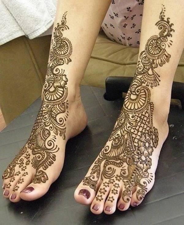 或者是小夫妻之间的情趣吗 在印度,新婚女性会以手脚纹身为由躲避家庭