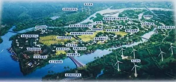 博鳌乐城医疗旅游先行区规划图
