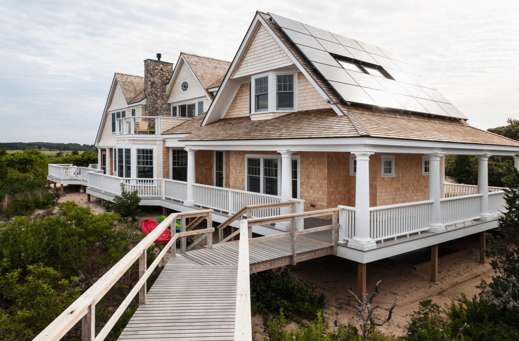 别墅屋顶安装太阳能发电系统需要符合哪些条件?