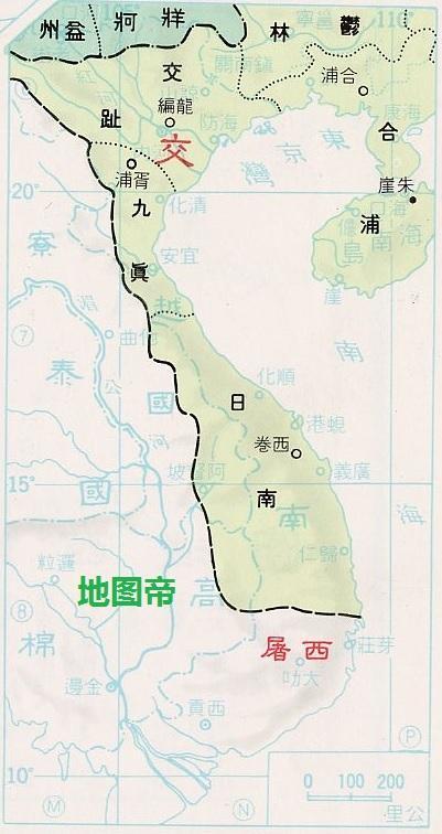越南何时在中国版图上,又何时分裂出去的呢?