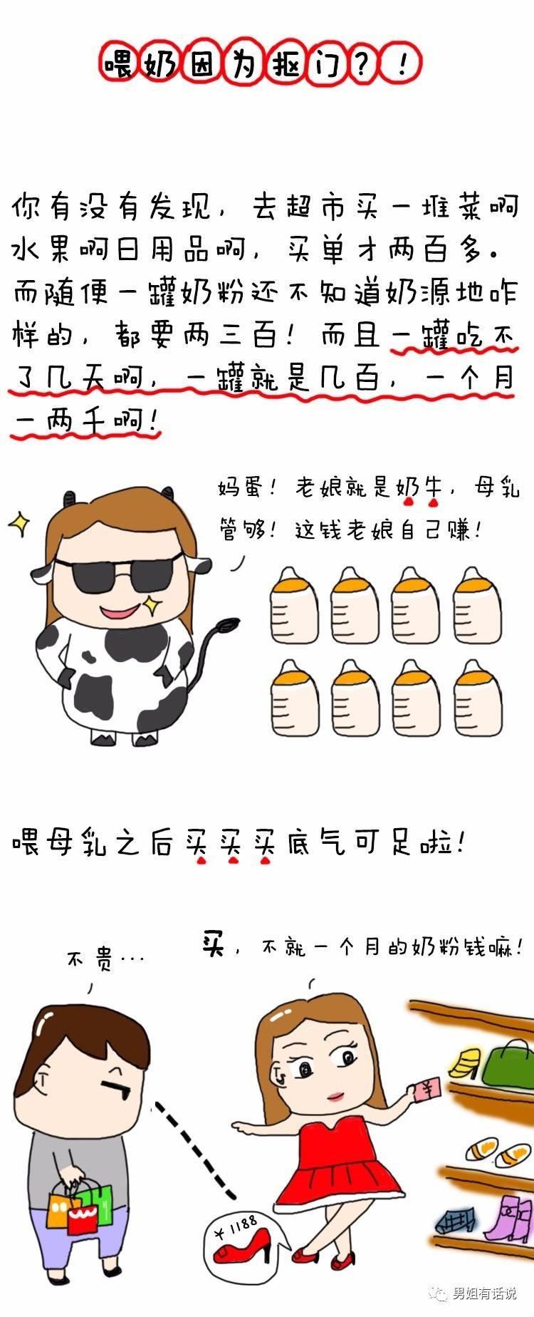 【就是】喂漫画母乳因为懒、怕死、还抠门!_科猴王漫画图片