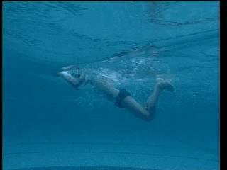 正确的收腿动作是小腿一定贴紧大腿-蛙泳腿部动作的六个常见错误问题