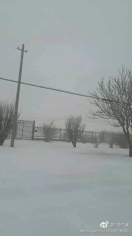 终于降温了!突如其来的下雪,四川人你准备好了重庆至宁夏自驾游攻略图片