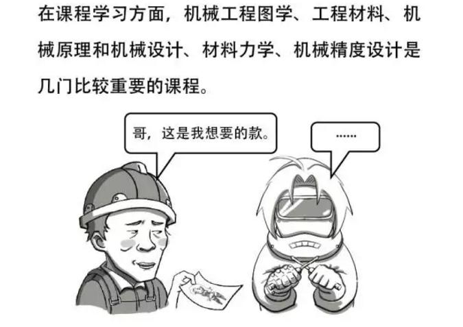 罢特漫画:学机械工程的漫画并不需要女舞3d火同学a漫画图片