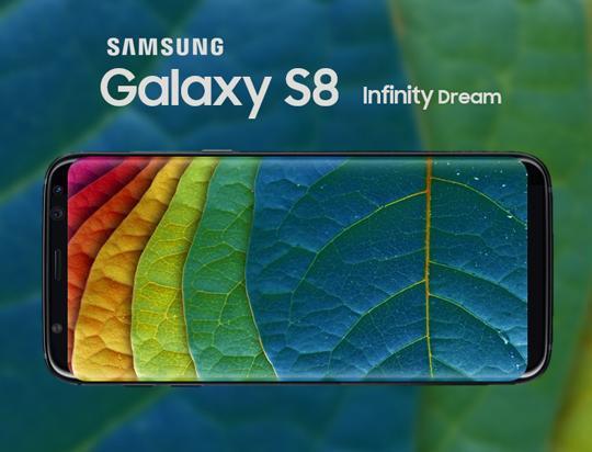 三星S8官方高清真机图来了,屏占比全球第一