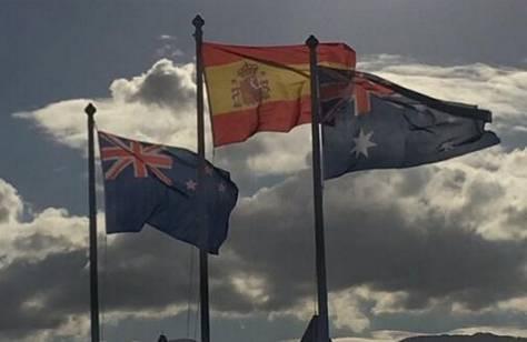 美国副总统首秀,欧盟把美星条旗弄错了!盘点那些国旗乌龙事件图片