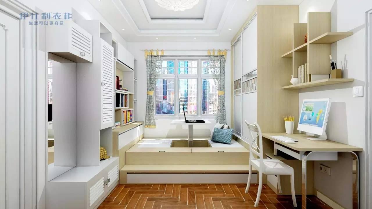 榻榻米可以是床,也可以收纳,关键是还有个升降台来娱乐,真是爽翻了.图片