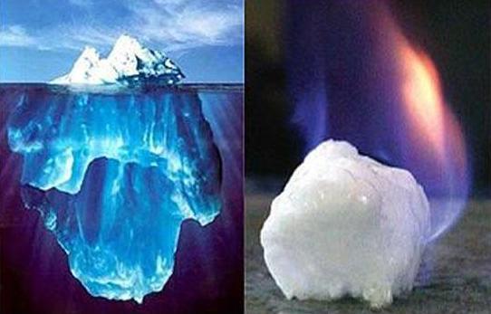 可燃冰被命名