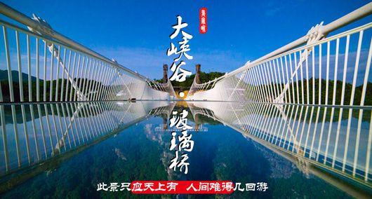张家界玻璃桥一日游攻略,大峡谷玻璃桥一日游价格图片