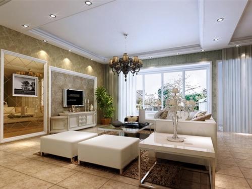 客厅 背景墙 通道/六、沙发背后尽量有靠的东西,无后顾之忧,这样才符合风水之道...