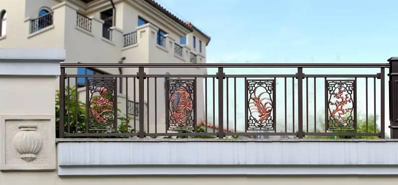 番禺6款艺术风格阳台护栏,总有一款适合最美的家