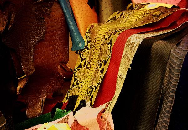 无以伦比的蛇皮,世界上最璀璨的皮革,没有之一