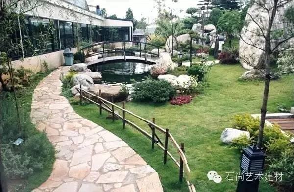 别墅花园 | 庭院的石头小径,也可以颜值爆表!-搜狐