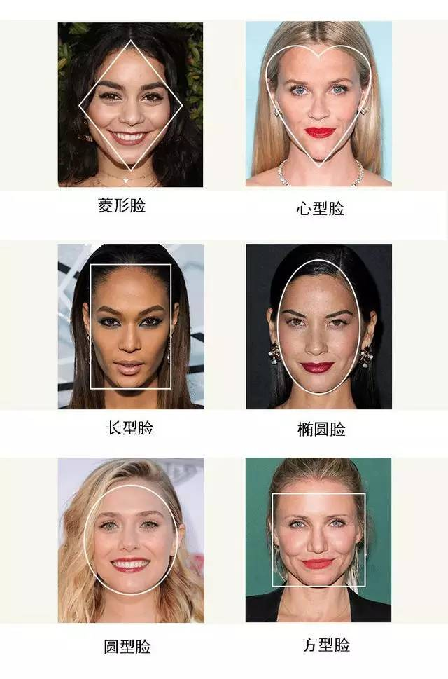 先来介绍了解常见脸型千万不能剪的发型图片