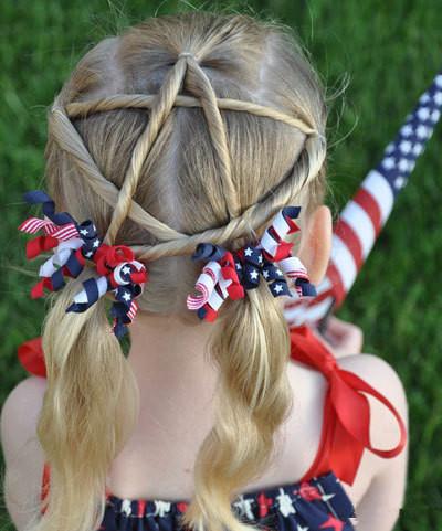 发型欣赏——儿童发型花样造型大全图片