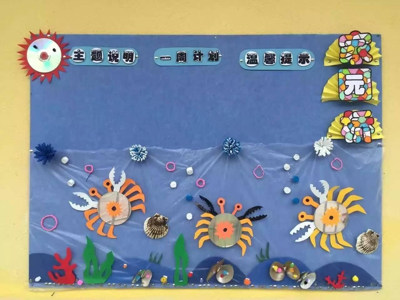 国外幼儿园家园联系栏欣赏图片