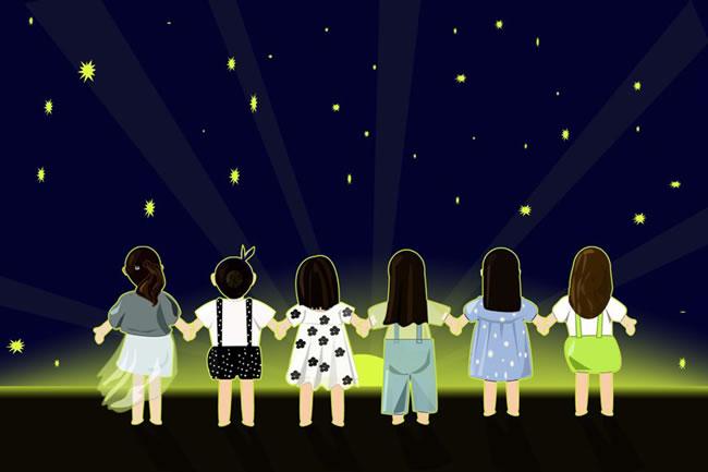 看_寻开心——看星星,没看清,亲戚,一个秘密,前兆