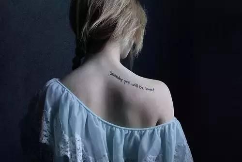 你最爱的小清新纹身