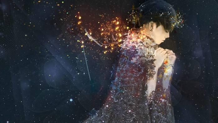 华晨宇:我是一道微光,一定会为自己照亮一片天空图片
