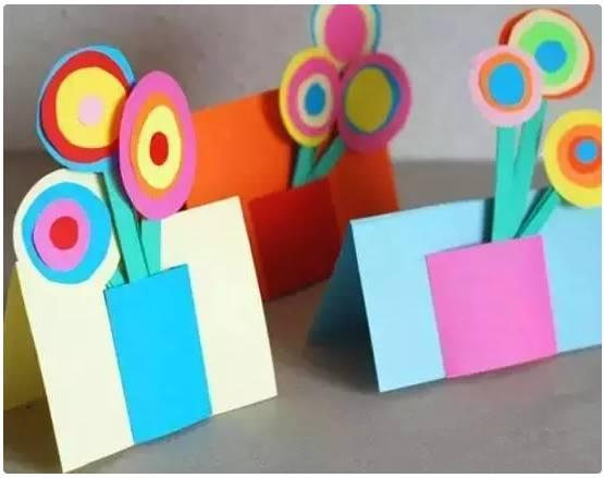 三八节幼儿手工 活动方案,送给妈妈老师的礼物 !