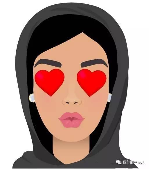 """""""表情符号中我最喜欢的是一个女人飞吻,因为它让我想到了我的表妹.图片"""