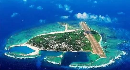 南沙群岛最新填海囹�a_我国对南海南沙群岛的:永暑礁,赤瓜礁,华阳礁,南薰礁,安达礁