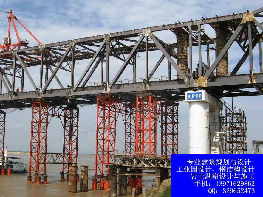 桥梁的钢结构设计