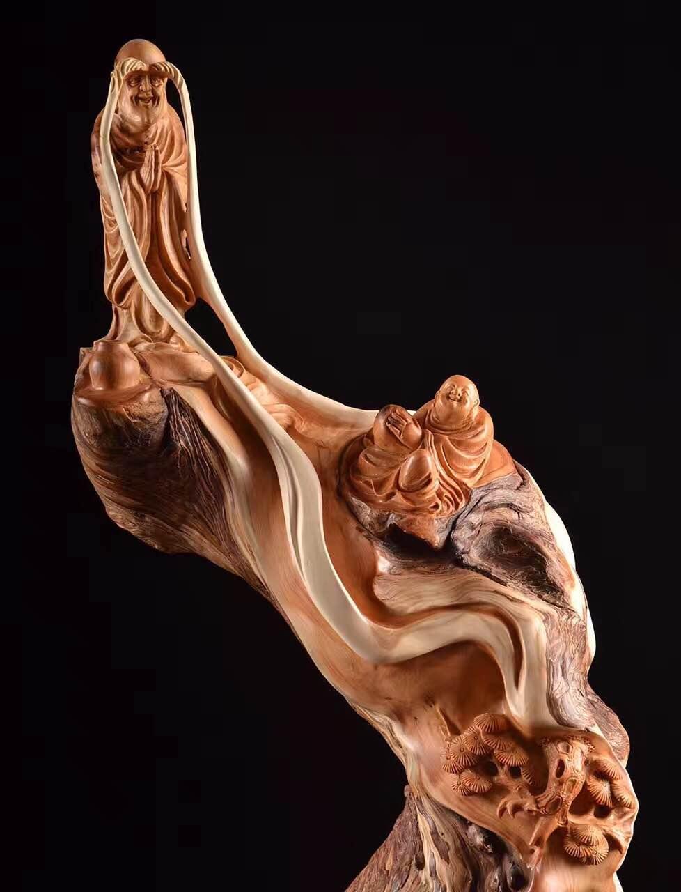 沉香,小叶紫檀,黄花梨 崖柏手串,摆件,把件等工艺品以及明式红木茶盘.