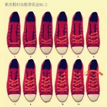 最简单的懒人系鞋带法,4岁小孩都能30秒内学会!图片
