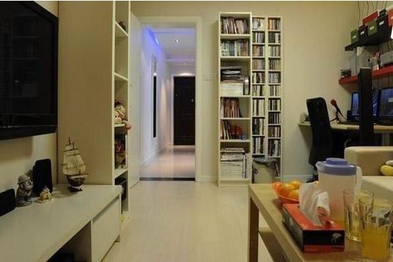40平米小户型一居室厨房效果图   40平米房子有多大呢?长8米宽5米,