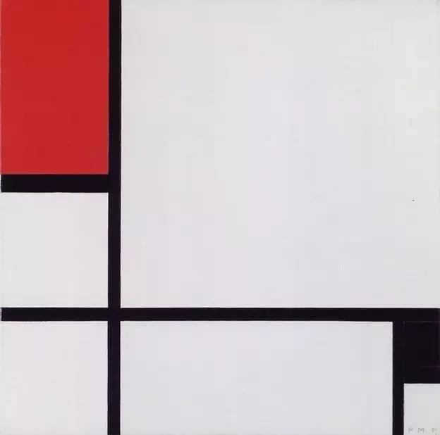 几何抽象画派先驱 蒙德里安