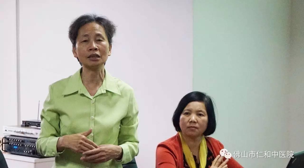中医院聘请著名大学教授培训医护人员,全面升级服务水平迈出扎实